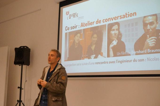 Nicolas Joly, Atelier de conversation, Dinard, Mois du doc