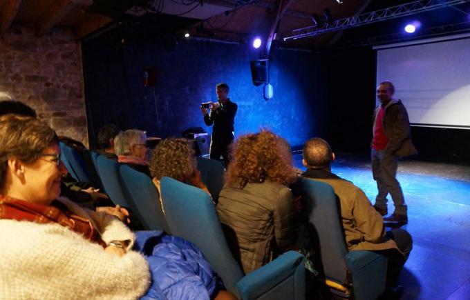 Nicolas Joly, Atelier de conversation, La Grange Théâtre, Mois du doc