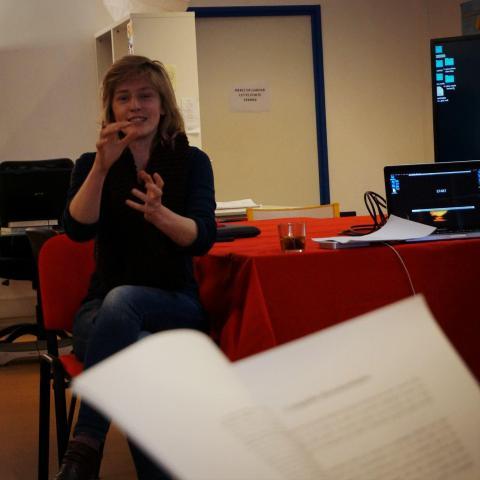 Sarah Blum, chef opératrice du film Vers la tendress (Alice Diop)