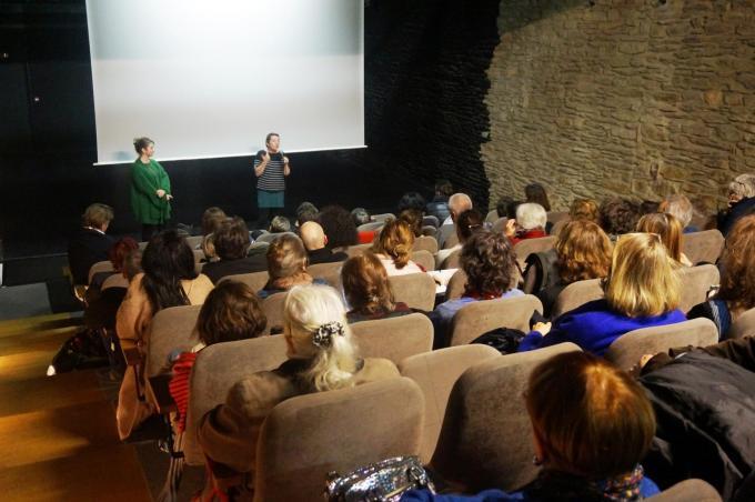 Rencontre avec Marianne Bressy après la projection de son film AU PIED DE LA LETTRE