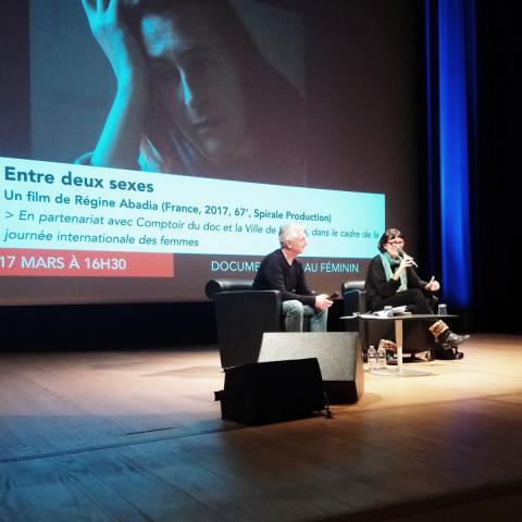 Champs Libres - Discussion avec Régine Abadia autour de son film ENTRE DEUX SEXES