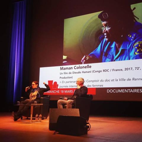 Champs Libres - Rencontre avec Anne Renardet, monteuse du film Maman Colonelle