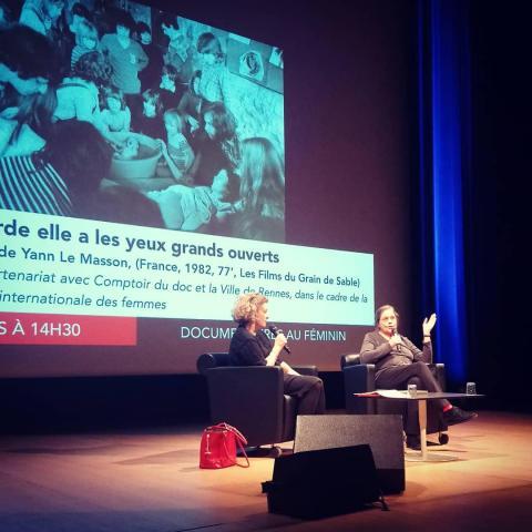 Champs Libres - Discussion avec Isabelle Rathery, monteuse du film Regarde elle a les yeux grand ouverts